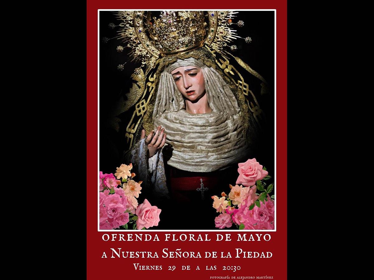 #Ofrenda #ViernesSanto 🌹Ofrenda floral a Nuestra Señora de la Piedad https://t.co/eXn9R7CVES @HdadPiedadJerez https://t.co/YC7c2gwPaT