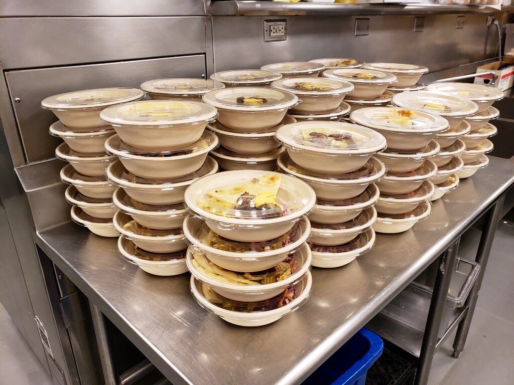 With all of the changes to everyday life, we have had to find new ways to give back.   Over the last 2 months, @bonappetweet has donated, prepared and delivered 450 meals each week to @SFMFoodBank. 4200 meals and counting! https://t.co/Ezdo8fNysk