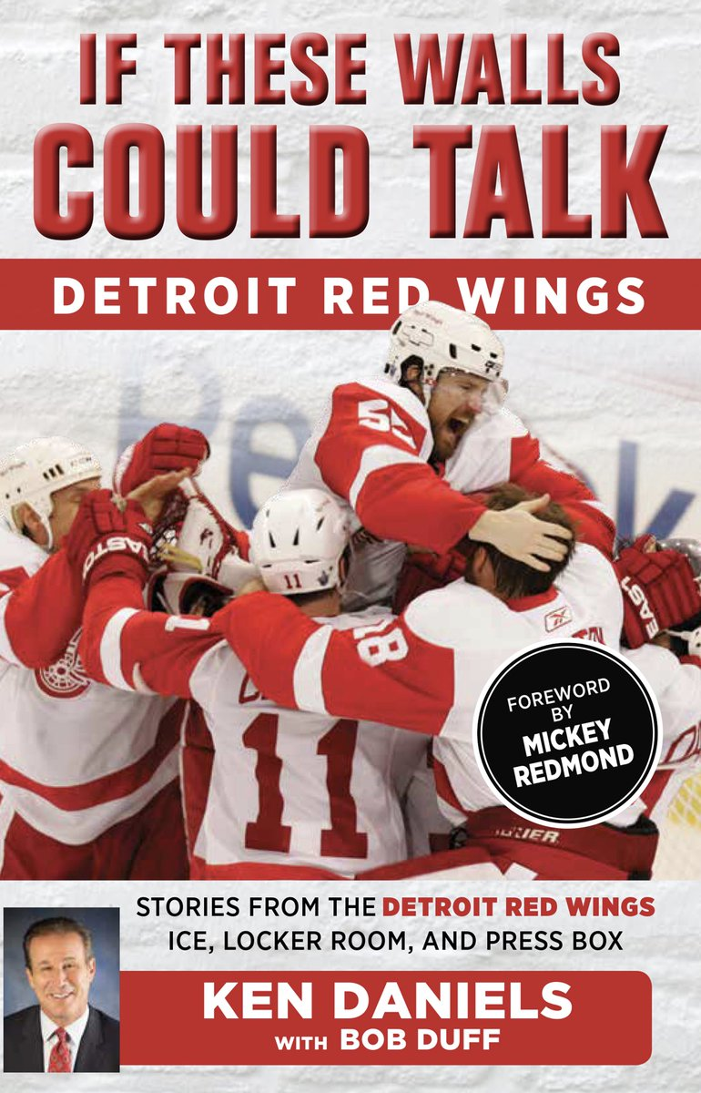 """Support the Jamie Daniels Foundation with the purchase of """"If These Walls Could Talk"""" by Ken Daniels with Bob Duff, autographed by BOTH Ken Daniels and Mickey Redmond. 93 copies are available, so act now! @DetroitRedWings  https://t.co/b6CeRclexv https://t.co/h7n0iQXVTF"""