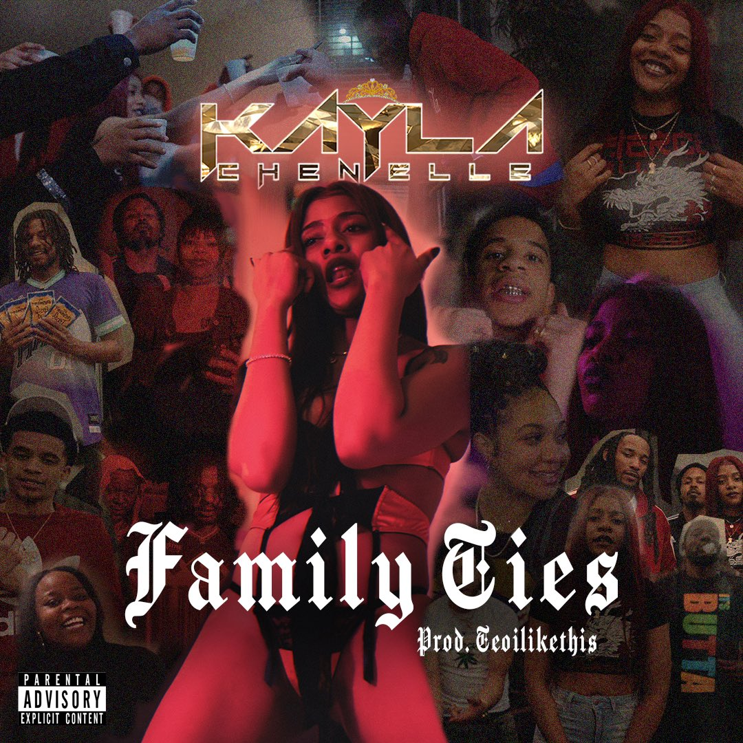 @johnny_pspr went crazy on this cover  Family Ties Coming Soon ! Ya'll Ready ?  #KaylaChenelle #FamilyTies #Saucepic.twitter.com/7pdvIYM4f5