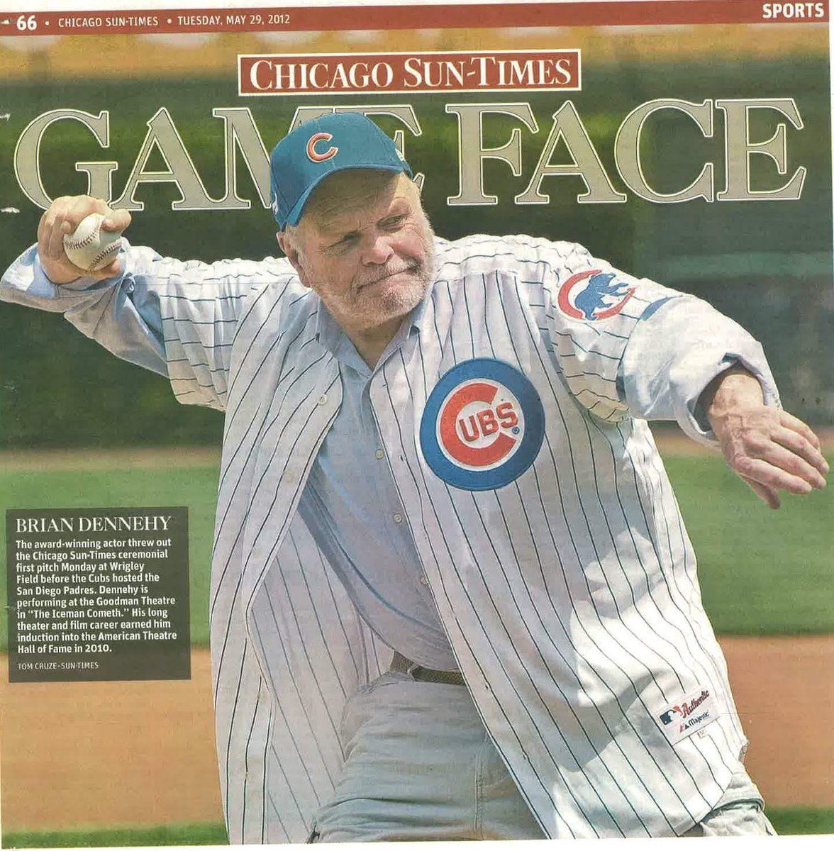 8 years ago today I actually had to be convinced to attend this game. How close I was  to missing something magical. #briandennehy #Chicago #cubbiespic.twitter.com/DkzG1TZWth