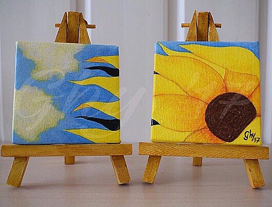 As if I'm brainstorming and taking notes on my new project, I thought it would be nice to throwback to these mini paintings from 2017   #art #kunst #artist #artblog #artbyghy #painting #pintura #acrylics #acrylicpainting #3dart #homedecoration #throwbackthursday #TBThursdaypic.twitter.com/Fqq5dHLSqb