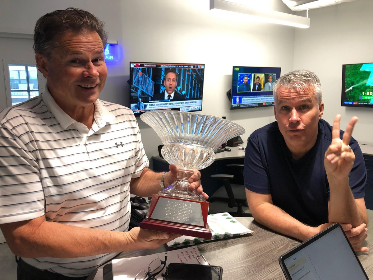 Foursome for Frontliners! Are you or someone know you an emergency worker or essential employee? Nominate them or yourself to play in a foursome with @buckbelue8 + @JohnKincade for the 19th Annual Golf Classic! Enter Here: 680thefan.com/foursomes/ #BKClassic