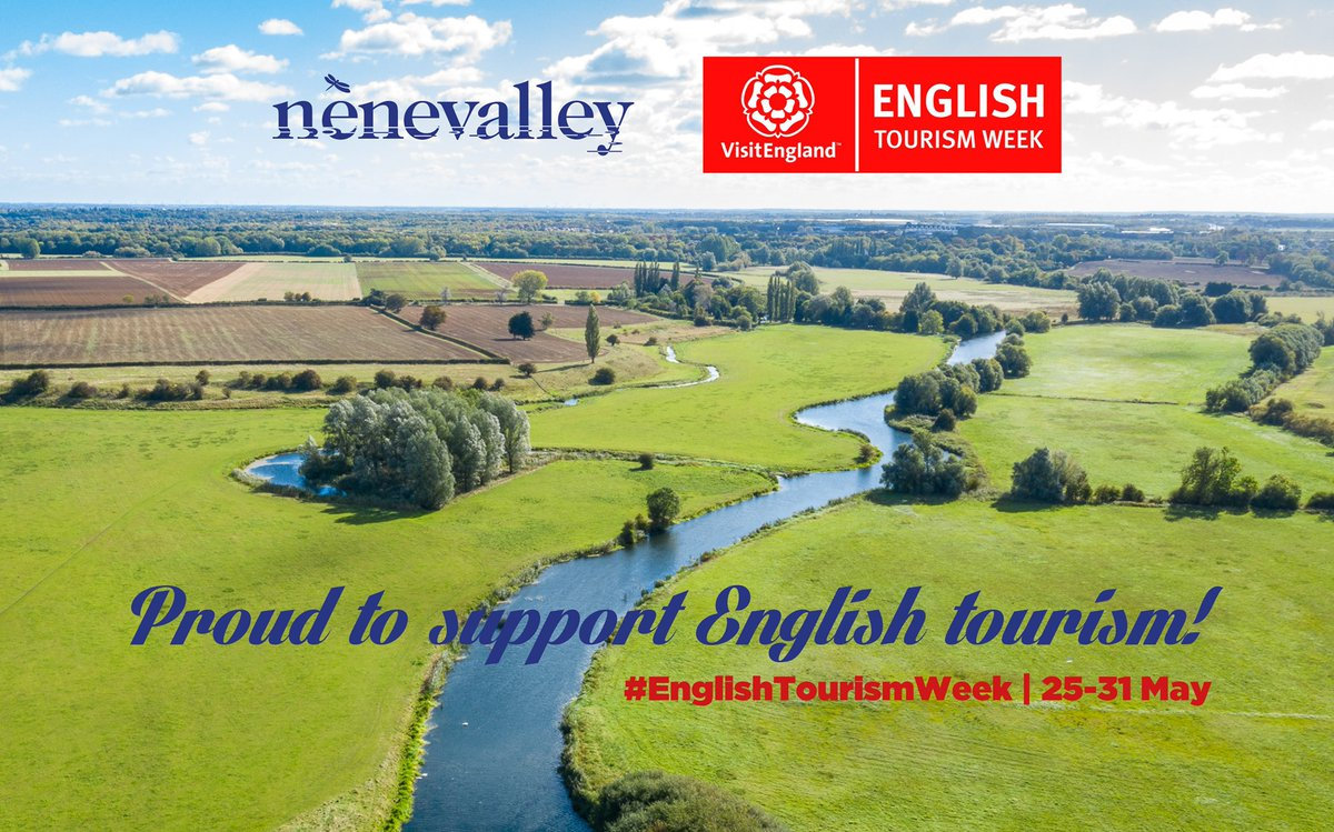 We are supporting #EnglishTourismWeek20 and the work of the Destination Nene Valley partnership. More information about our work to develop and promote tourism can be found here. Please RT and spread the word! #northantshour #lovenenevalley nenevalley.net/about/business/