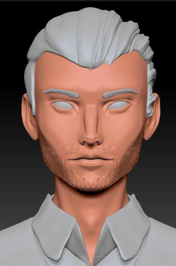 Im thinking about facial hair... #characterdesign #characterart #facialhair #zbrushpic.twitter.com/J12olJacSU