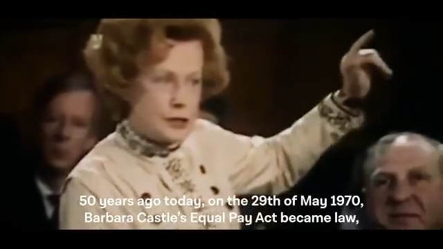 It is 50 years since Labour introduced the #EqualPayAct - a huge step forward for equality and a testament to the women who took strike action for equal pay. We have a long way to go to get true equality - and we cannot wait another 50 years for that.