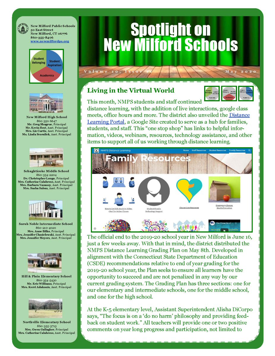The May issue of Spotlight on New Milford Schools is ready for viewing: images.pcmac.org/Uploads/NewMil…