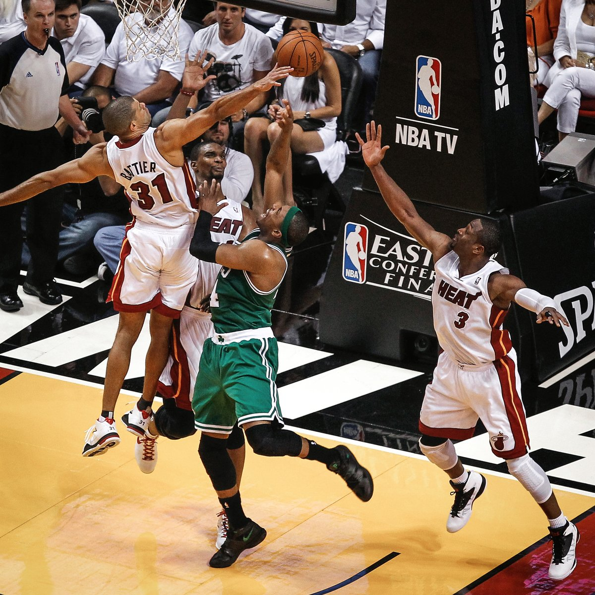 The 2012 Eastern Conference Finals tipped off 8 years ago today...  We know how that series ended... 😁 #TBT https://t.co/qjeFg7jMaU