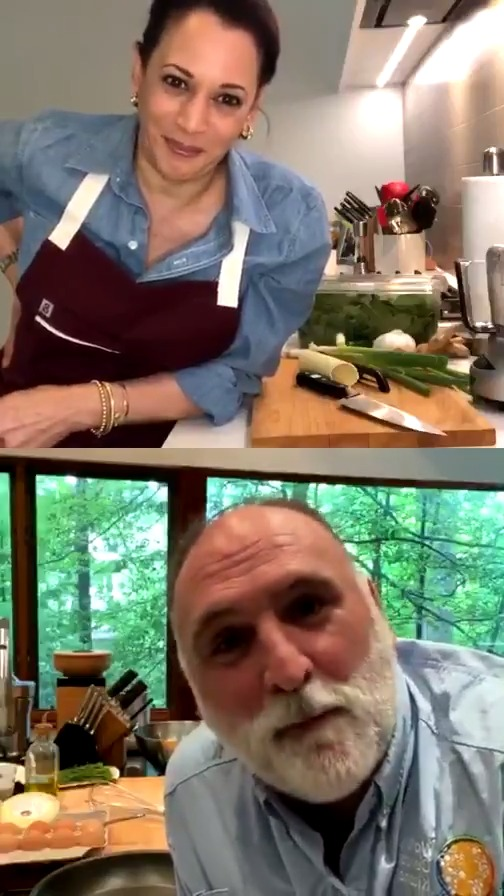 .@ChefJoseAndres, it was so good to see you today! I cant wait until we can cook together in person—promise well skip the tofu. Watch the full Instagram Live here:bit.ly/2zI8KXx