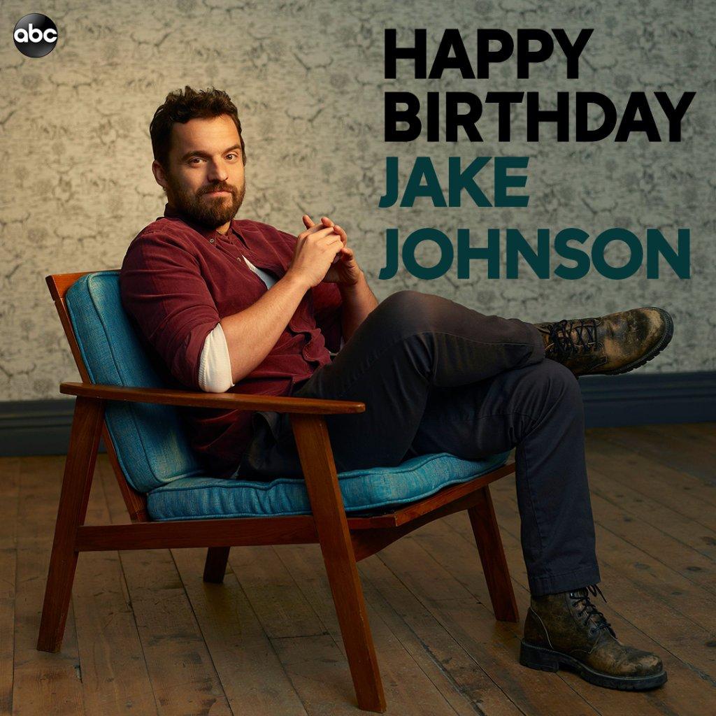 Happy birthday to the amazing Jake Johnson! 🎉
