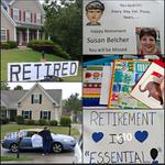 Image for the Tweet beginning: Happy retirement, Mrs. Susan Belcher!