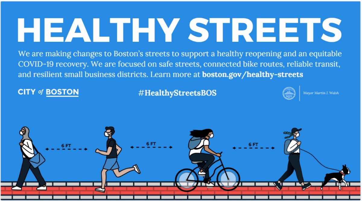 Today, I can also share our new steps to improve health and safety in public space. It's a package of changes we're calling #HealthyStreets.pic.twitter.com/hsgCA22P9C