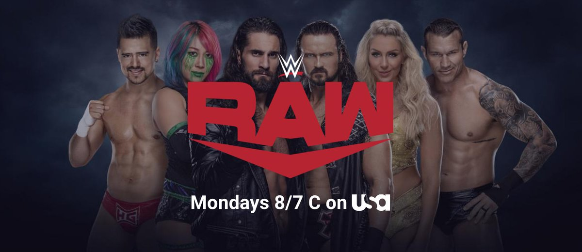 Wow. #WWE's #RAW online banner has Angel Garza on it. This makes me HAPPY!