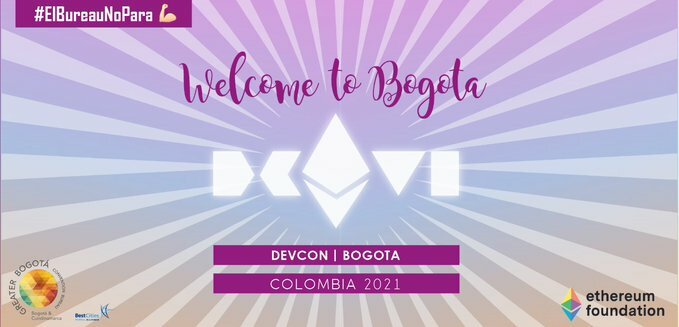 ethereumRT bogotabureau: Thanks to the bogotabureau, #Bogota welcomes efdevcon for #2021, one of the most important conferences for developers worldwide. This is a unique opportunity for experts  pic.twitter.com/4s8OsF7Sa9 pic.twitter.com/DprTuCJrva