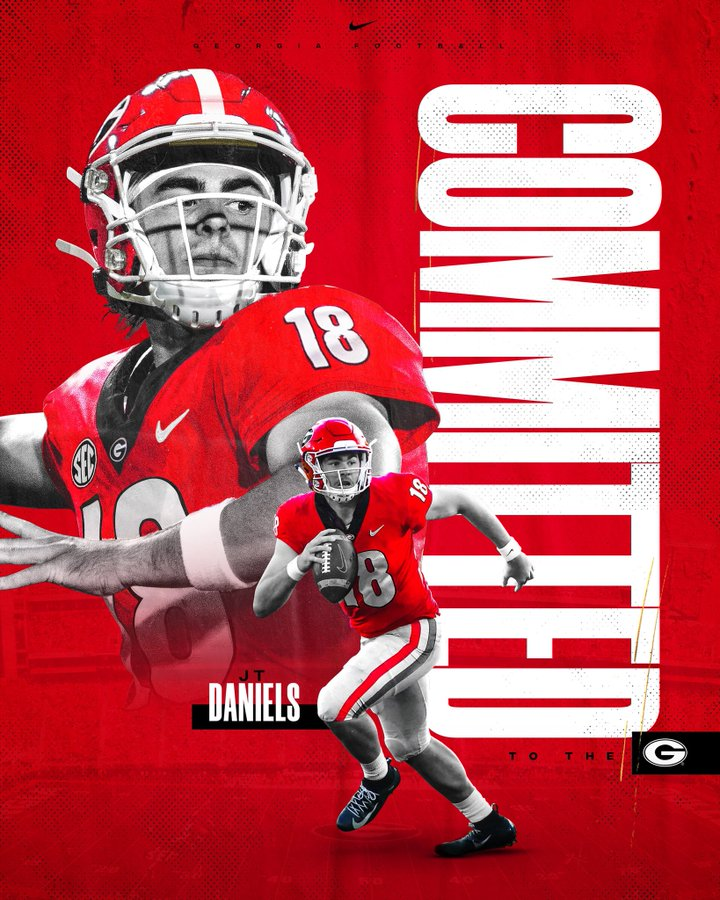 Graphic from JT Daniels Twitter