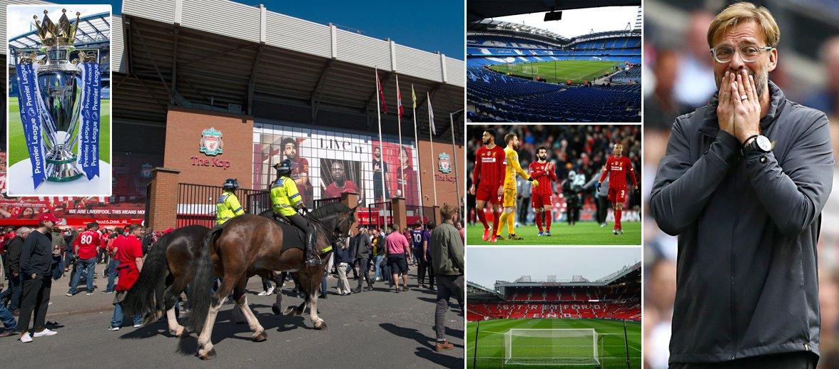 Police want Merseyside derby in Manchester with Liverpool facing wait on Anfield return   @CrossyDailyStar   #LFC #MUFC #MCFC #EFC dailystar.co.uk/sport/football…