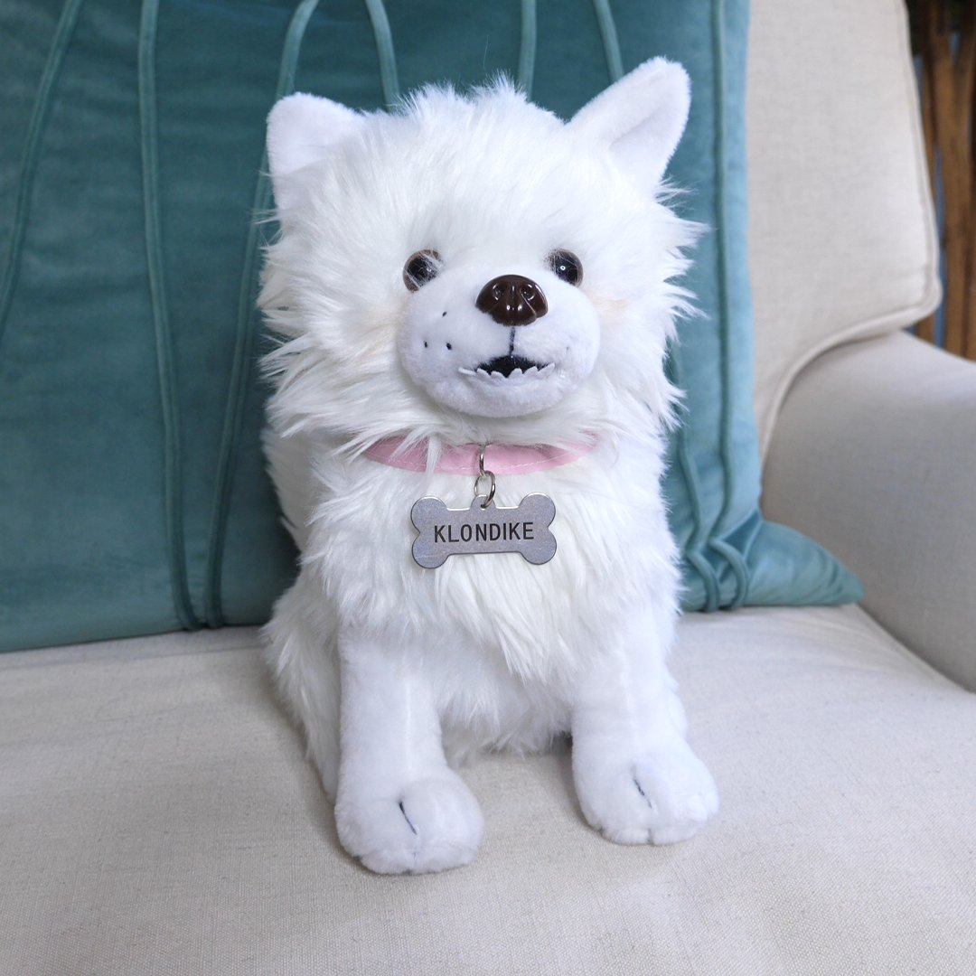 Introducing the Klondike plush! Complete with underbite and tear stains. Get her today! yiay.store