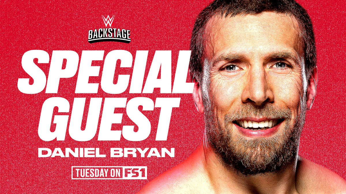 Daniel Bryan Announced As Special Guest For Next Week's WWE Backstage