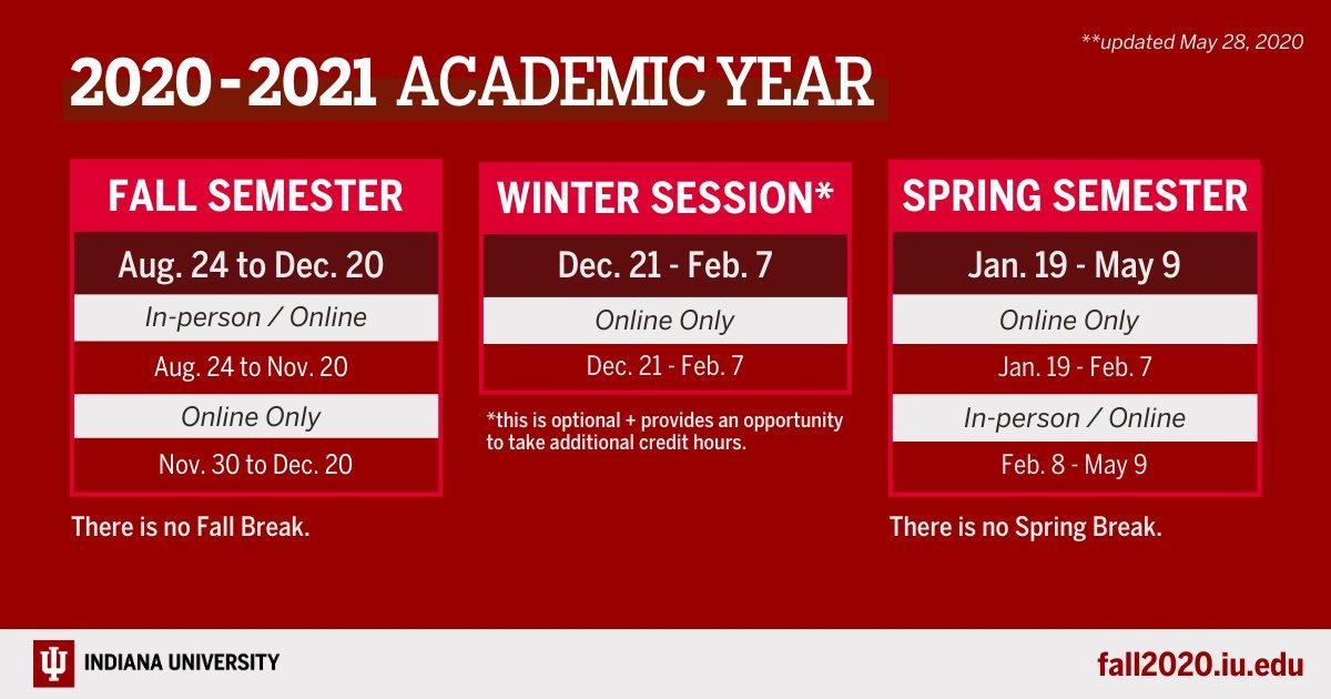Indiana University Academic Calendar Fall 2021 Photos