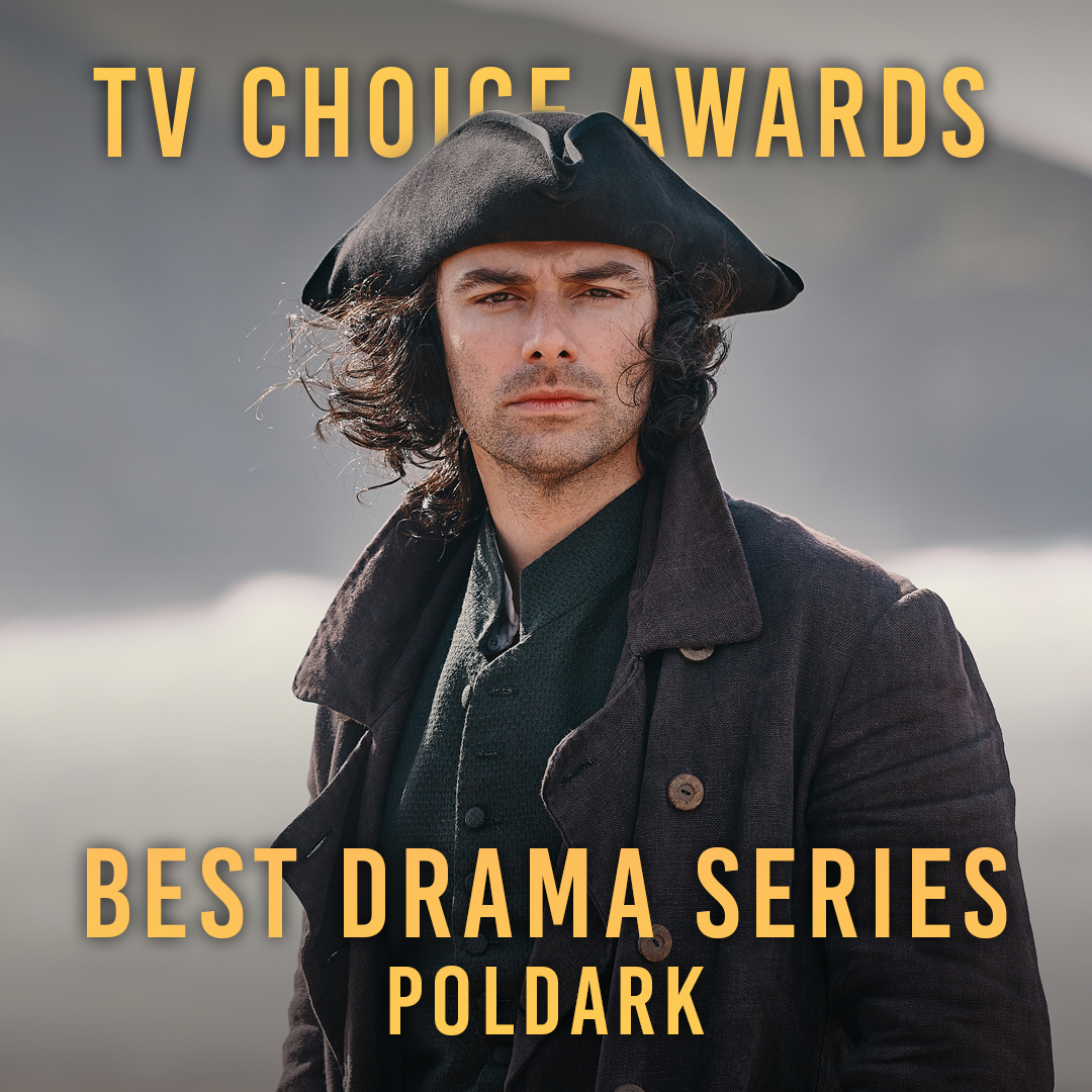 Dearest #Poldark friends, we'd be thrilled if you could spare two minutes to go and vote for us in the @TVChoice Awards 'Best Drama Series' longlist: awards.tvchoicemagazine.co.uk/vote - thank you ❤