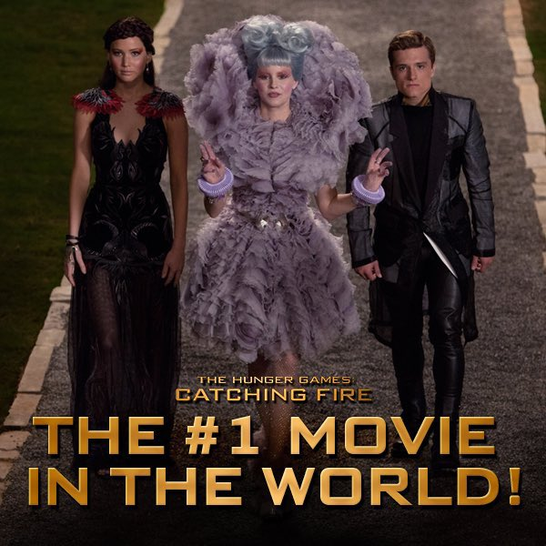 the #1 movie in the world since catching fire and now the new book is a #1 worldwide bestseller thg slays pic.twitter.com/7KevDy6o20