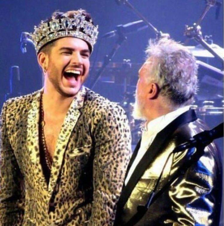❤️-LOVE ❤️-RESPECT ❤️-TRUST #Queen + #AdamLambert
