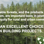 """Image for the Tweet beginning: """"#Sustainable #forests, and the products"""