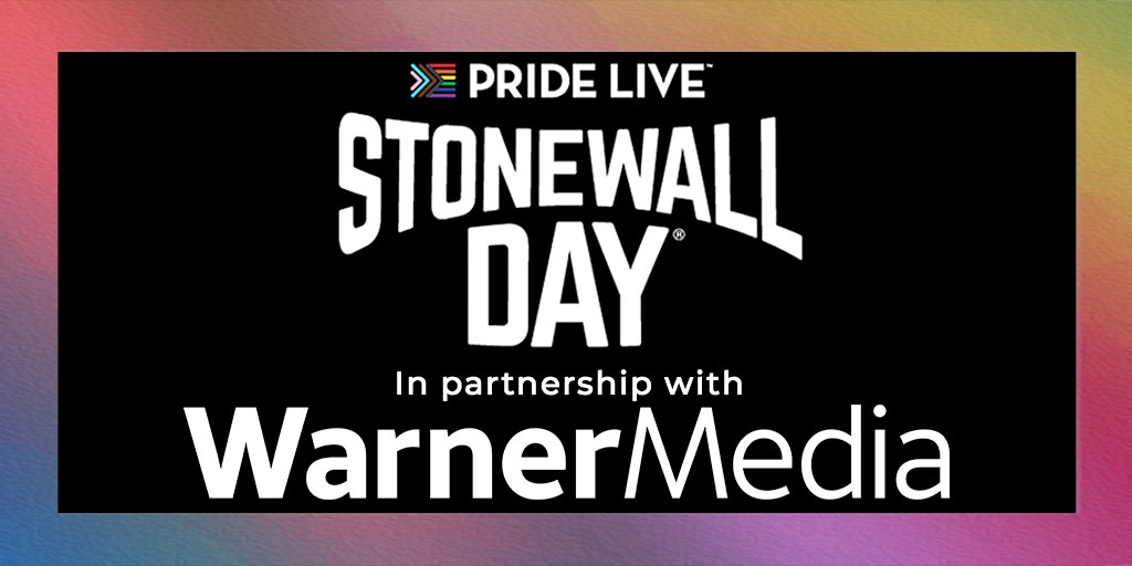 Pride Live is proud to welcome @WarnerMedia as a partner of Stonewall Day.