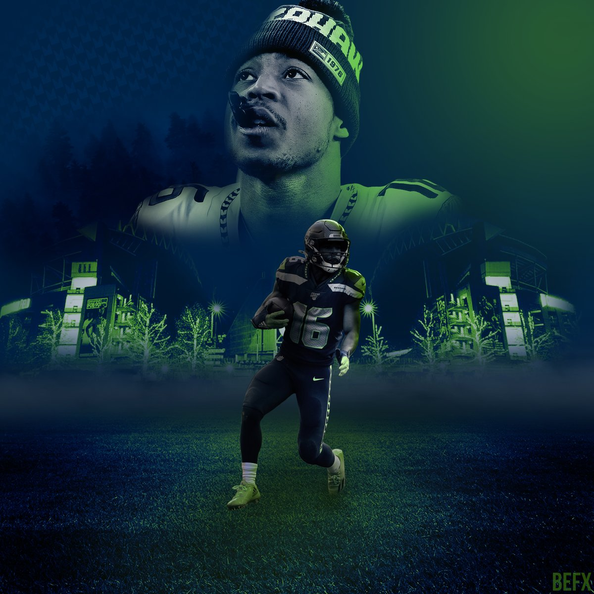 Tyler Lockett Design Likes and RTs appreciated