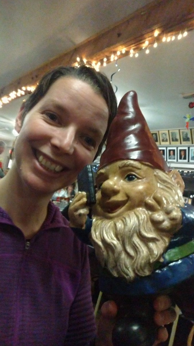 Which leads me to ask, #curling Twitter, what's the craziest/best prize you've ever gotten at a bonspiel? Mine is of course the selfie gnome, won at the Charlotte County Ladies here in St. Stephen. We came second. The rest of my team chose jackets. <br>http://pic.twitter.com/FXyvLedjME