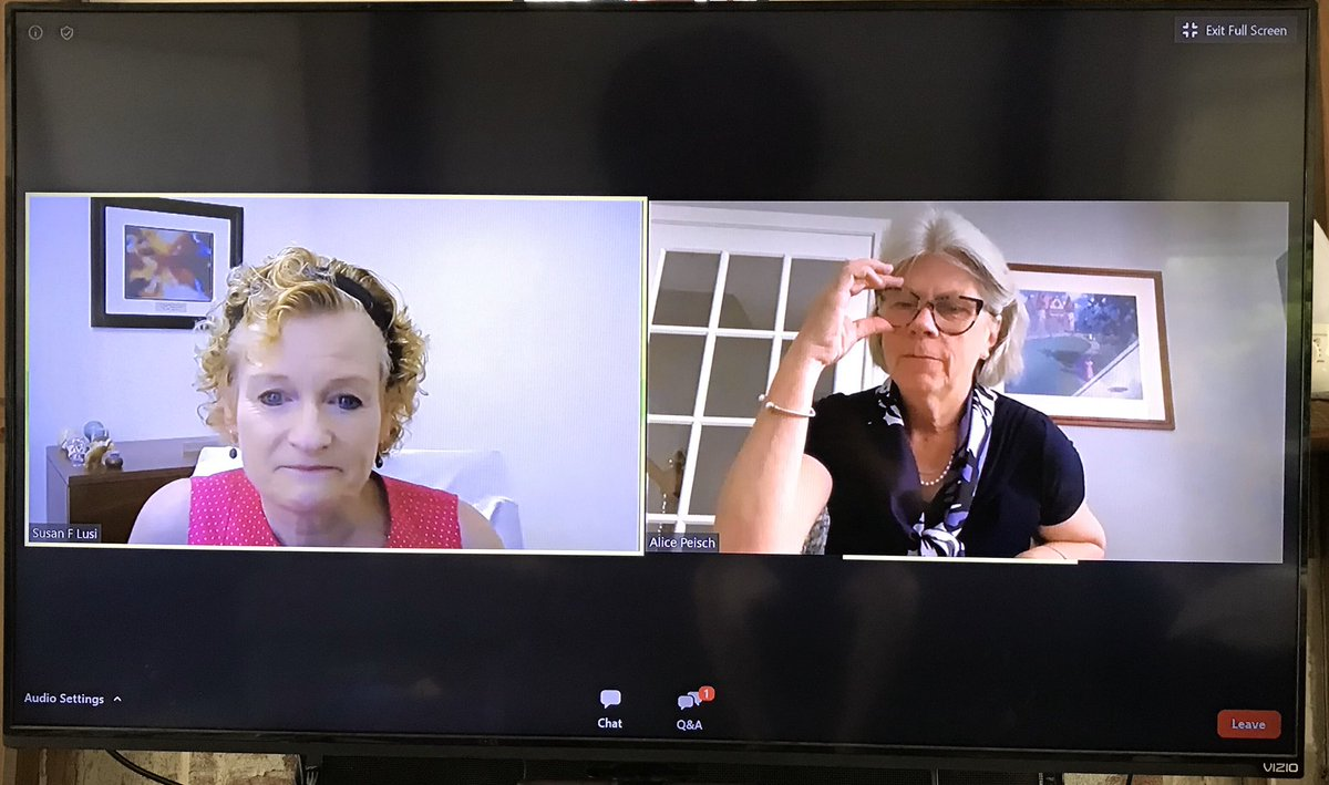 Thanks to @RepAlicePeisch for joining us this morning for our first virtual Ed Newsmakers discussion on the impact of COVID-19 on students and teachers, the 20-21 school year, and the Student Opportunity Act! #maedu #mapoli https://t.co/QrUQPqVnyH