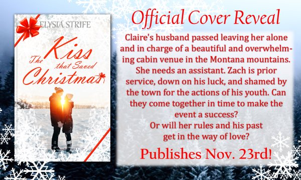 I'm going to have a couple paperback giveaways as well as ebooks with this holiday romance.  She's going to be on tour in November as well. Be on the lookout for the goodies!   https://elstrife.com/giveaways-past-present-future/…  #romance #holiday #Christmaspic.twitter.com/eewPjXXwU7