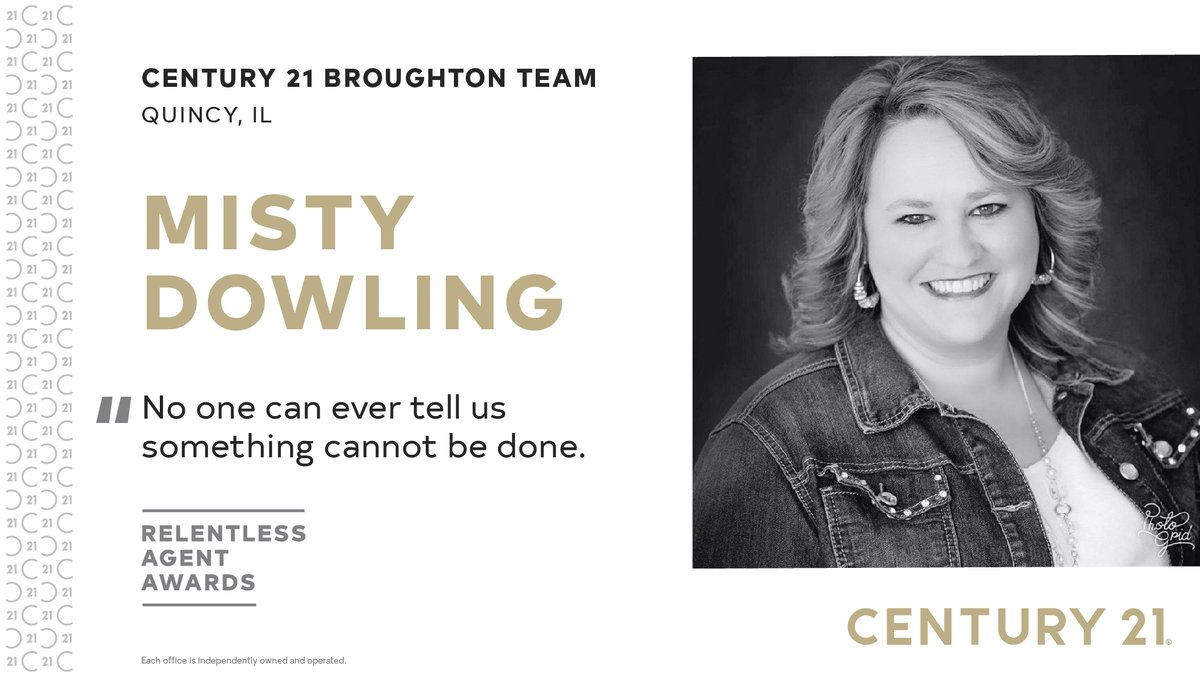 We sat down with recent Relentless Agent Award Winner Misty Downling to learn more about what inspires her, how she's navigating through this pandemic and what's next | https://t.co/RegTS4eSnl https://t.co/vLAxcVJmgZ