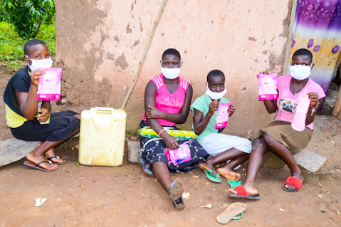 In Uganda, @AsanteAfrica has provided pads to girls like Sharon, Robinah, and Annet, who had never seen or used pads before because their parents couldn't afford them. The girls say that receiving menstrual products has helped make them more comfortable and confident.