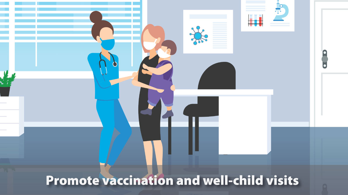 As communities begin reopening, #pediatric providers should continue to encourage well-child visits. Know what precautions to take to ensure the safety of your patients: bit.ly/2ym3Y0D.