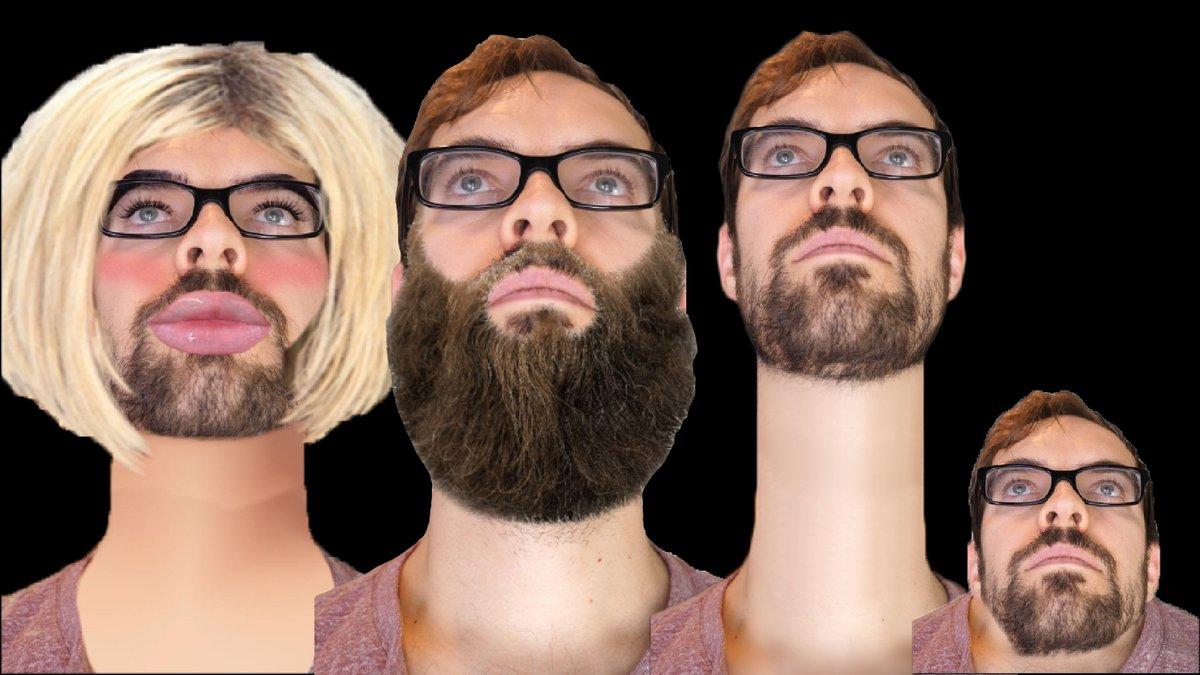 new vid: Please shave my neckbeard. youtu.be/zAjfVbLhQdc
