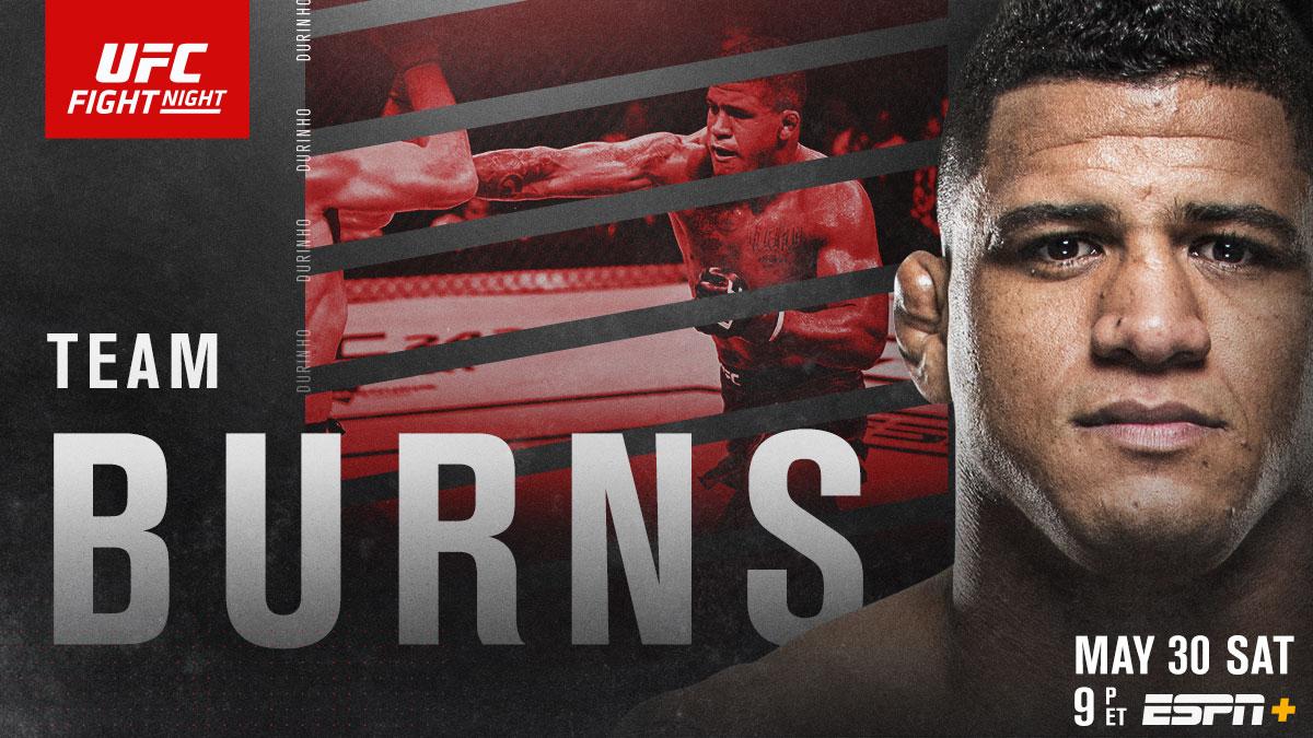 RT if you're w/ @GilbertDurinho! 🇧🇷  📺 #UFCVegas - LIVE on @ESPN & ESPN+ https://t.co/3GfYFsC8Rc