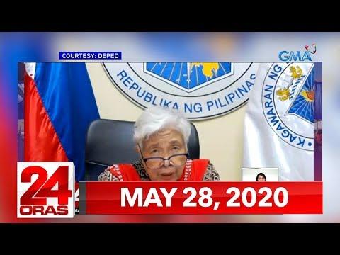 VIDEO: 24 Oras Express: May 28, 2020 [HD] bit.ly/2XBKu16