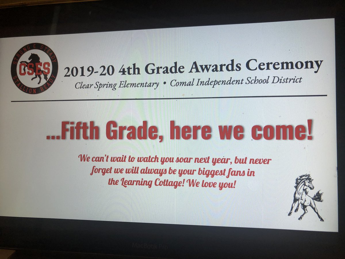 The 2019-20 @CSES_4thGrade year is in the books! What a year we've had to look back on: http://youtu.be/UT76idJFS0Q  Now @CSES_5thgrade, we're coming for ya! #StallionReadypic.twitter.com/mdYwHcnBMW