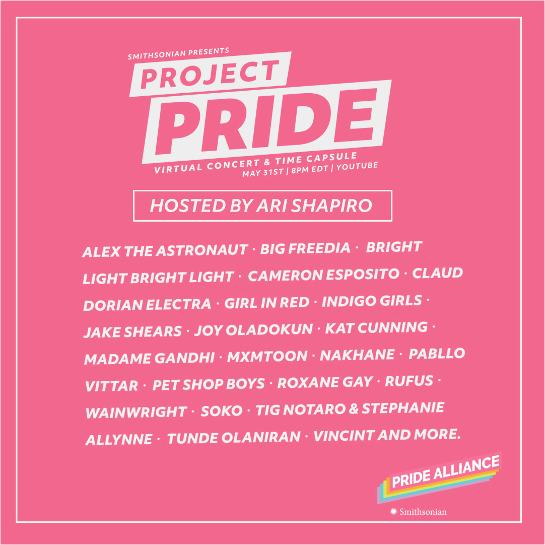 Pet Shop Boys, Big Freedia, girl in red and more are appearing on the Project Pride livestream this weekend: brooklynvegan.com/pet-shop-boys-…