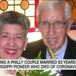 Image for the Tweet beginning: Remembering a Philly couple married