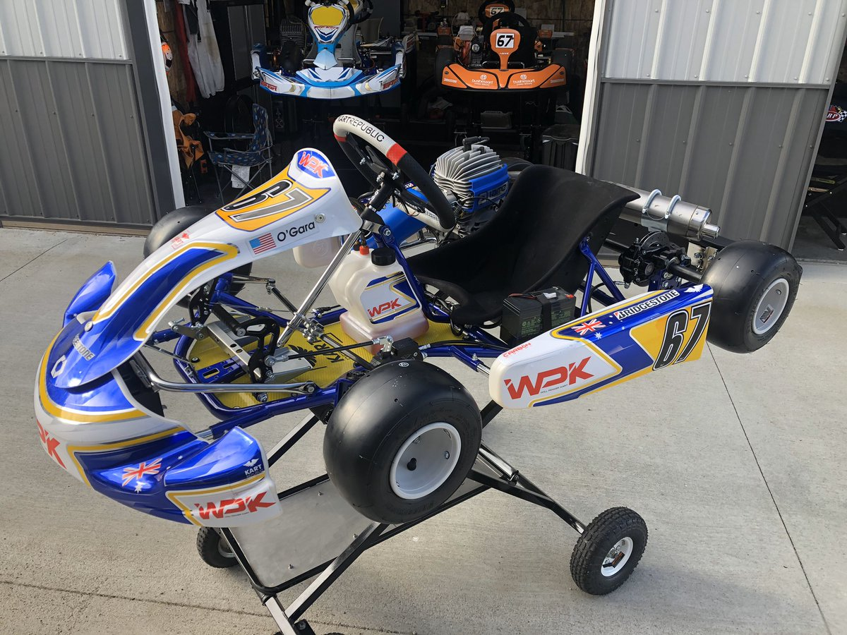 Zoey is going to love the speed out of this dream machine! Can't wait to log some laps soon! Thank you to @WillPowerKart for believing in/helping the next generation.