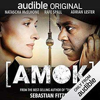 Amok by Sebastian Fitzek  Hostages are taken at a radio station; the demands are broadcast live. Lots of of twists and turns in this exciting and drama filled thriller. https://emmabbooks.com/amok-by-sebastian-fitzek/… #audiobook #BookWorm  #thrillers pic.twitter.com/awUDqoVrpx