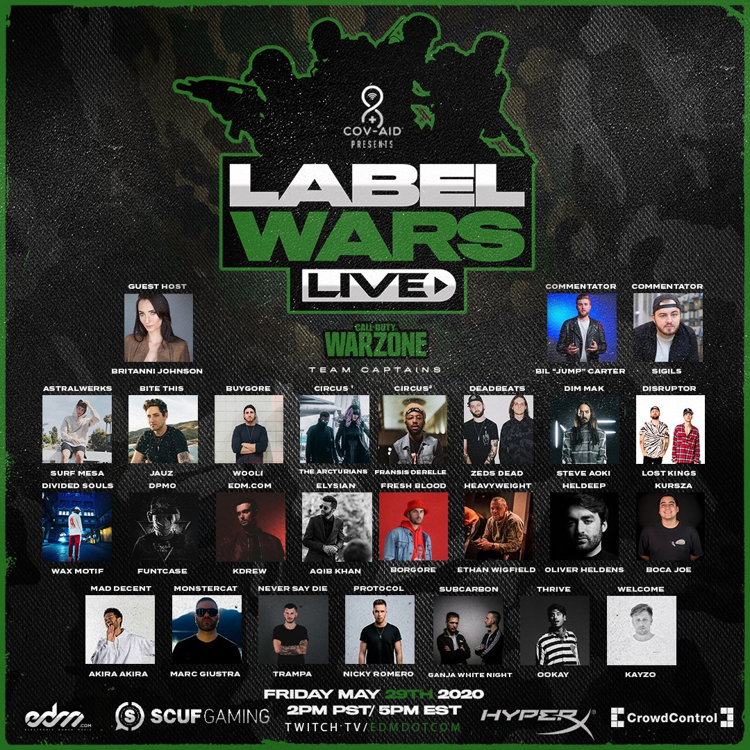 #LabelWars is so stacked we cant tagged everyone in this post. 😂 wars.edm.com