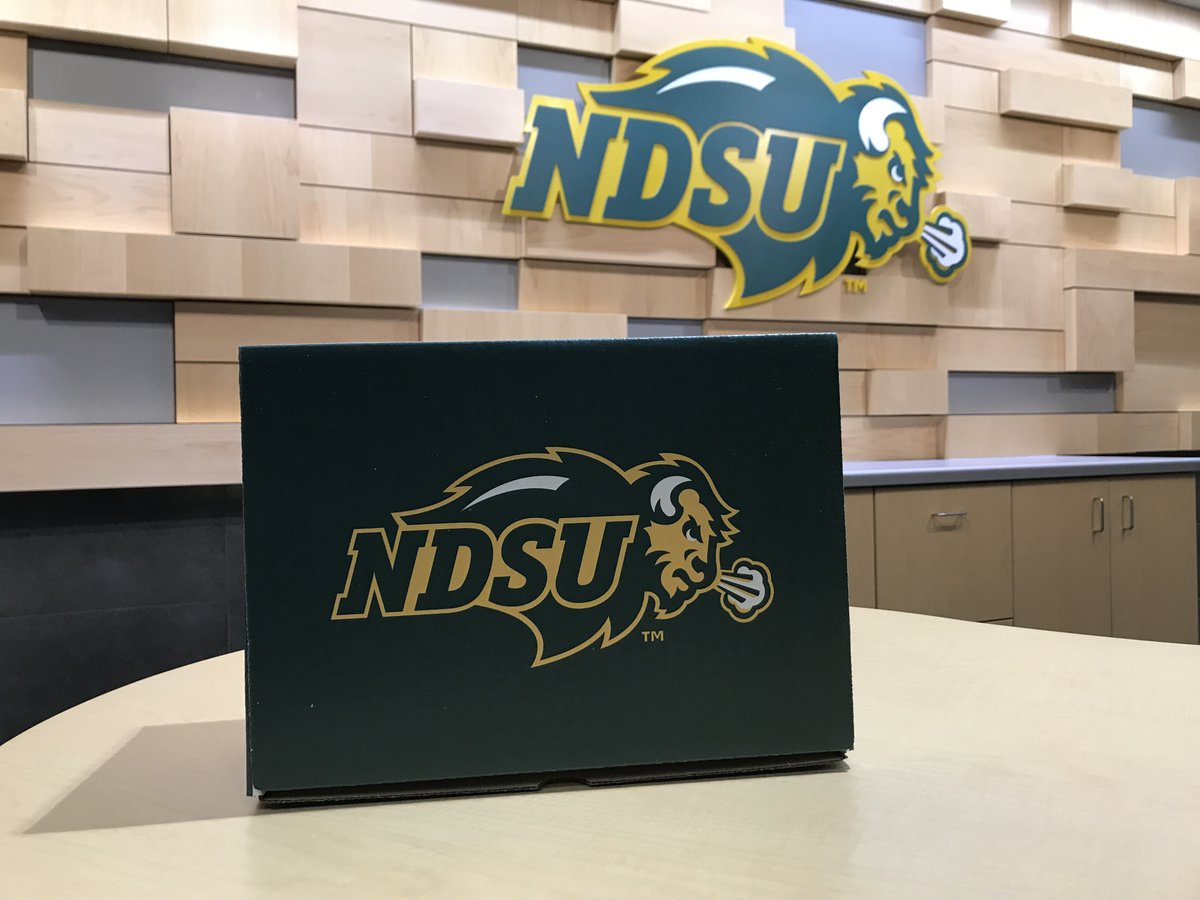 #FreeStuffFriday   It's the spooky  return of the Mystery Box   Nobody knows what's inside… well, except us   Retweet, Like, & Follow @NDSUlicensing for a chance to see what's inside   winner will be selected Monday!<br>http://pic.twitter.com/nMBMfM307H