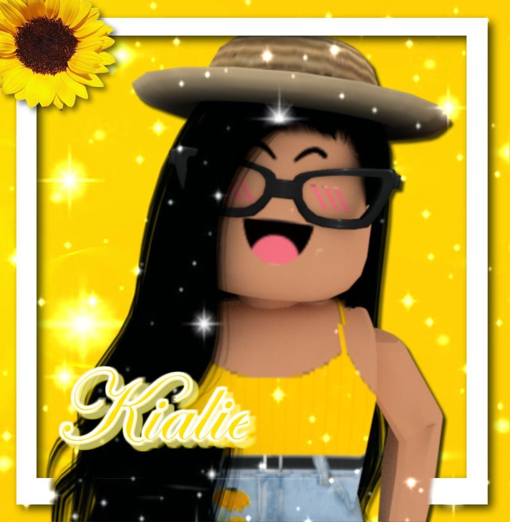 Sunflower Roblox Gfx