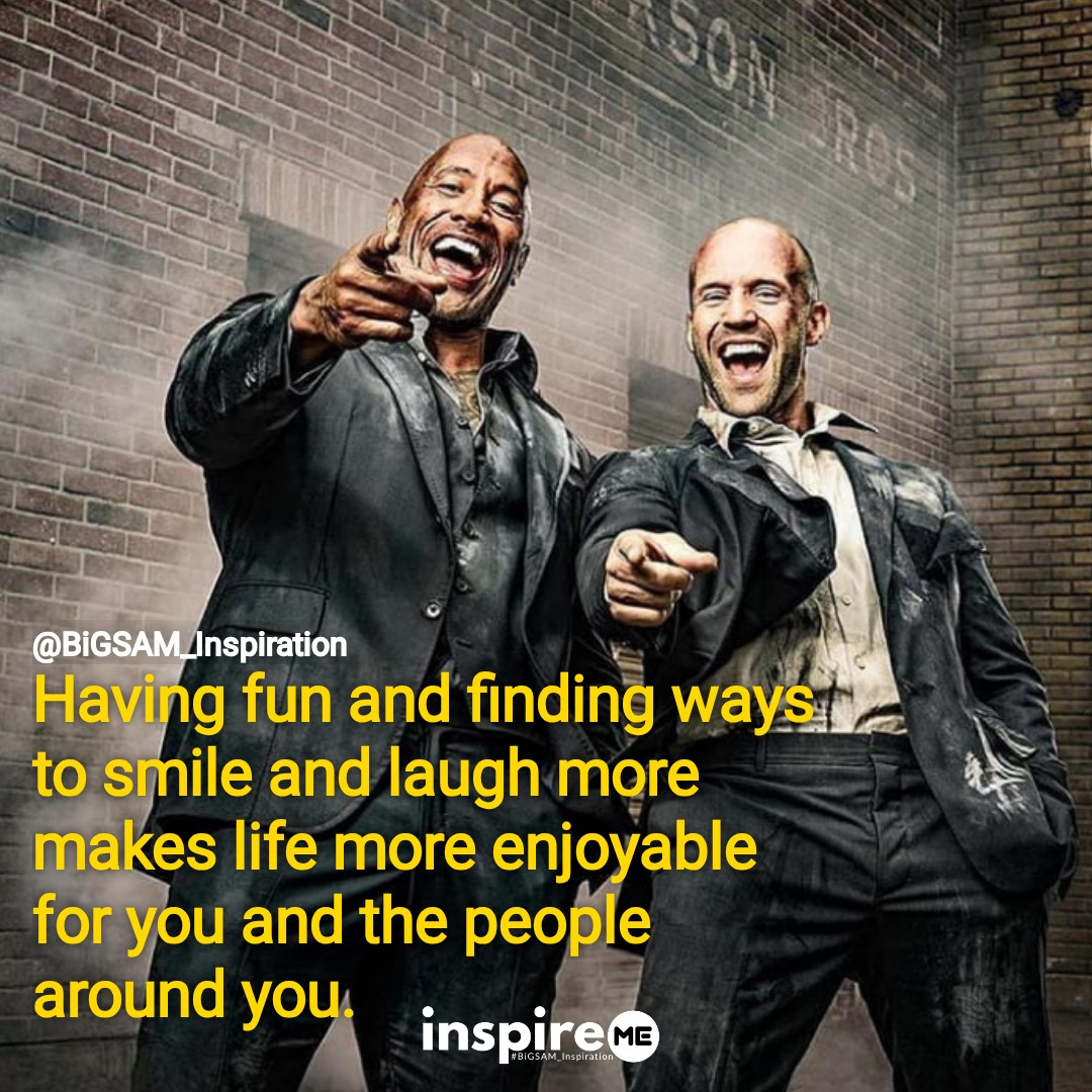 Have fun and make life enjoyable. °inspireME #FunFriday #BiGSAM_Inspiration #quickthoughts #bigsam_inspiration #encouragement #quote #quotes #comment #comments #TFLers #tweegram #quoteoftheday #song #funny #life #instagood #love #photooftheday  #wordstoliveby
