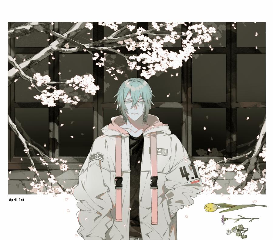 桜とライラック