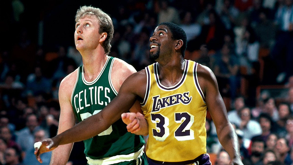 Scoring the rivalry: How Magic Johnson and Larry Bird played in their legendary head-to-head matchups  🏀: https://t.co/yRwAiHIWXT https://t.co/RJB7Z70FGj