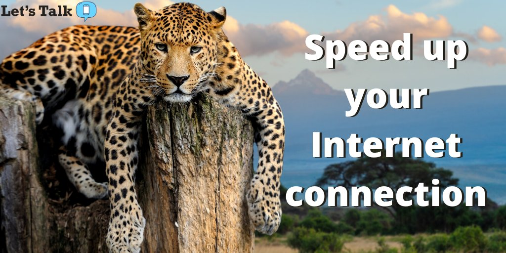 Slow internet? You're not alone. Learn how to speed up your current connection!  https://t.co/aWuJuOnDyE https://t.co/qRa01etscM